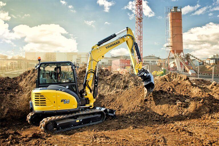 miniexcavadoras excavadoras yanmar